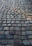 Kleine Straße in der alten Stadt Lizenzfreies Stockbild