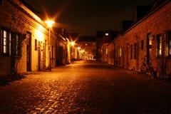 Kleine straat Stock Foto's