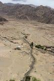 Kleine stroom in Himalayagebergte Stock Afbeelding