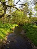 Kleine stroom of rivier Stock Foto's