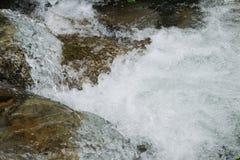 Kleine stroom van water Stock Afbeeldingen