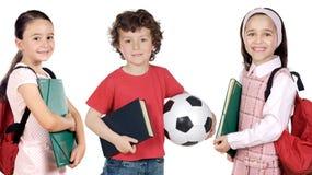 Kleine studenten Stock Afbeelding