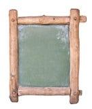 Kleine Tafel mit Holzrahmen Stockfoto