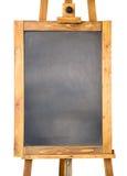 Kleine Tafel mit Holzrahmen lizenzfreie stockbilder