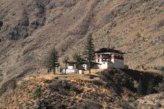 Kleine tempel op de berg Royalty-vrije Stock Foto's