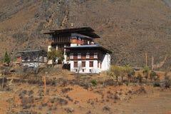 Kleine tempel op de berg Stock Foto