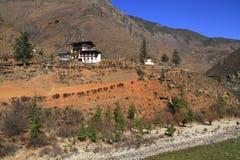 Kleine tempel op de berg Stock Afbeelding