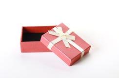 Kleine terracotta buitensporige doos Stock Afbeeldingen