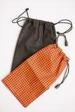 Kleine textielzakken Royalty-vrije Stock Afbeeldingen