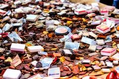 Kleine Thaise Amulet voor Verkoop Royalty-vrije Stock Foto's
