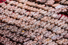 Kleine Thaise Amuletten voor Verkoop Royalty-vrije Stock Fotografie