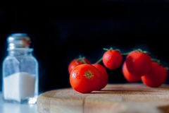 Kleine Tomateniederlassung lizenzfreie stockfotos