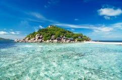 Kleine tropische Insel, Thailand Lizenzfreies Stockfoto