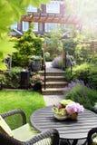 Kleine tuin royalty-vrije stock afbeelding