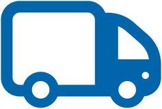 Kleine VectorVrachtwagen Royalty-vrije Stock Fotografie