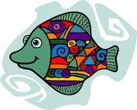 Kleine vissen Royalty-vrije Stock Foto's