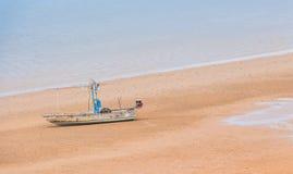 Kleine vissersboot Royalty-vrije Stock Afbeeldingen
