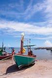 Kleine vissersboot Stock Foto