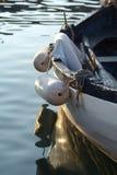 Kleine vissersboot Stock Afbeeldingen