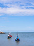 Kleine vissersboot twee Stock Foto's