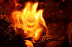 Kleine vlam Royalty-vrije Stock Afbeeldingen