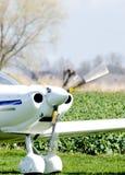 Kleine vliegtuig voorpropeller Stock Afbeeldingen