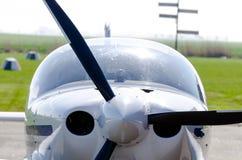 Kleine vliegtuig voorpropeller  Royalty-vrije Stock Foto's