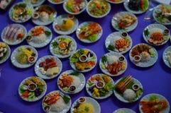Kleine Voedselreplica Royalty-vrije Stock Afbeeldingen