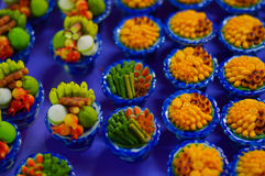 Kleine Voedselreplica Royalty-vrije Stock Fotografie