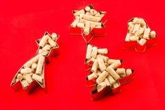 Kleine vormen van korrel Stock Fotografie