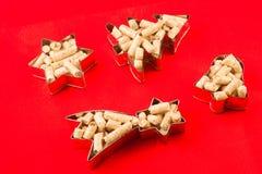 Kleine vormen van korrel stock afbeelding