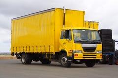 Kleine vrachtwagen Stock Foto's