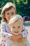 Kleine vrienden Stock Foto's