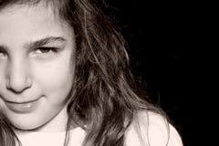 Kleine vrouw Stock Fotografie