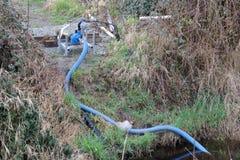 Kleine Wasser-Pumpe Stockbild