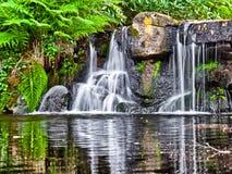 Kleine Wasserfälle Stockfotos