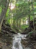 Kleine Wasserfälle am Nationalpark Lizenzfreies Stockfoto