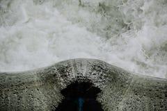 Kleine Wasserverdammung Stockfoto