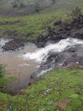 Kleine waterslide Stock Foto's