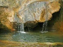 Kleine waterval Stock Foto