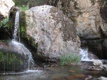 Kleine waterval twee Royalty-vrije Stock Afbeelding