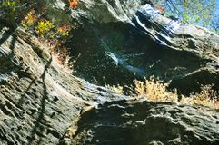 Kleine waterval van oud man hol, NYï ¼ ŒUSA royalty-vrije stock afbeeldingen
