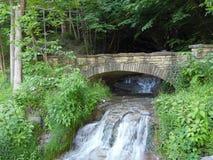 Kleine watervallen Royalty-vrije Stock Fotografie