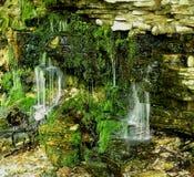 Kleine watervallen Royalty-vrije Stock Foto