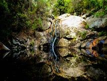Kleine watervallen royalty-vrije stock afbeelding