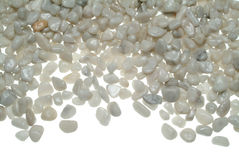 Kleine weiße Steine Lizenzfreie Stockbilder