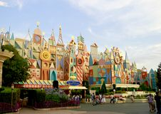 Kleine Welt Tokyos Disneyland Stockfoto
