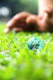 Kleine wereld in aard stock fotografie