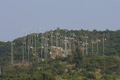 Kleine Windmühlen Stockfotografie
