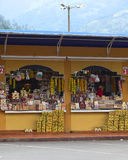 Kleine Winkel in Banos, Ecuador Stock Fotografie